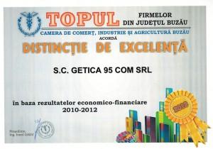 getica-95-distinctie-de-excelenta2013